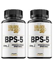 BPS-5 for Blood Pressure Supplement BPS5 Golden After 50 Pills (2 Pack)