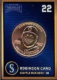 Robinson Cano 2018 Baseball Treasure MLB Coins Copper Seattle Mariners FD3217