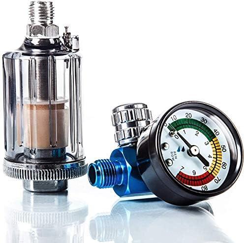 Benbow Luftdruckregler Mit Manometer Und Öl Wasser Abscheider Filter Für Lackierpistolen Pneumatische Spritzpistole Messgerät Druckminderer Separator Tool Auto