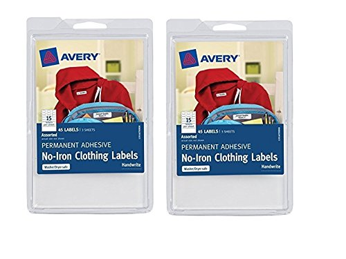 2 Pack Avery No-Iron