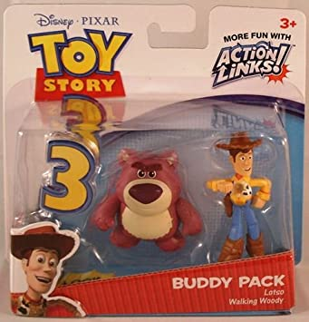Disney Toy Story 3 Pack de Amigos - Lotso and Walking Woody ...