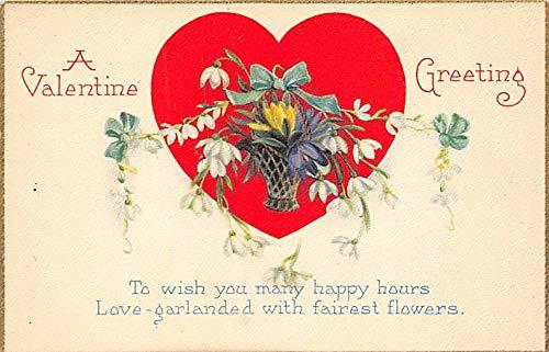 A Valentine Greeting Postcard ()
