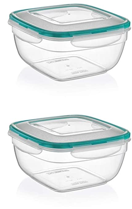 272174bd1d3f Amazon.com - Plastart 1052 Square Set, Multi Piece Food Storage ...