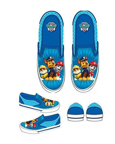 Nickelodeon Paw Patrol Schuhe Blau Slipper Gr 24-31 (25)
