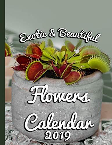 Exotic & Beautiful Flowers: Calendar 2019