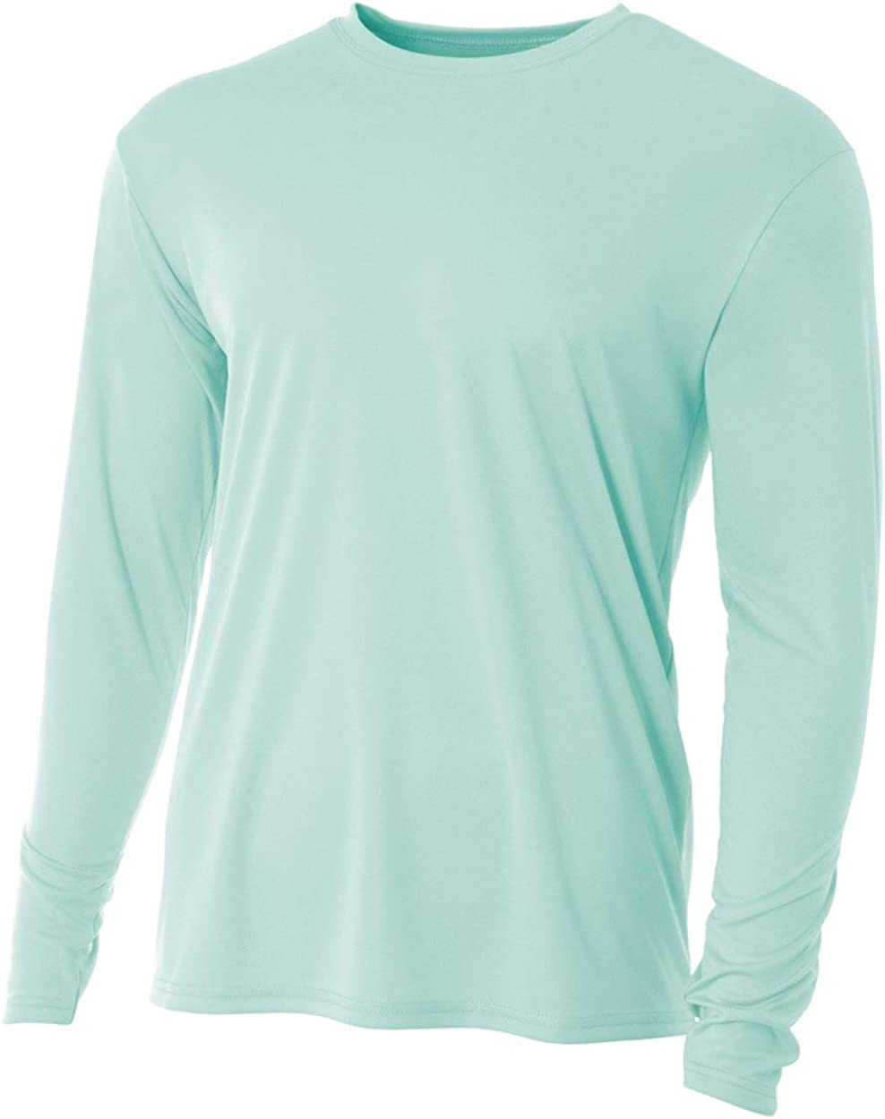 A4 Men's Cooling Performance Long Sleeve Crew