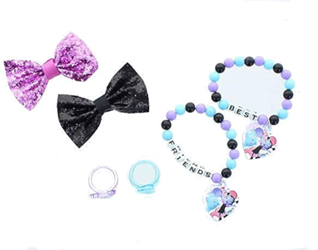 Licensed Little Girls Bows and Accessories Set