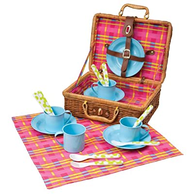 Alex Toys 18 Piece Picnic Basket Set by Alex