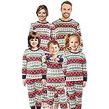 Matching Family Christmas Pajamas Set Pjs Holiday Pyjamas Xmas Sleepwear Kids Boys Girls Nightwear,Women,M