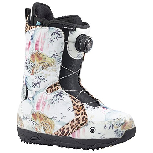 Burton Women's Limelight Boa Snowboard Boot, Lamb, 8.5