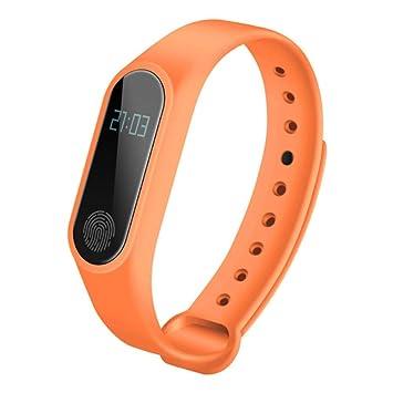 LJSHU Smart Pulsera Salud frecuencia cardíaca monitoreo IP67 Impermeable Multi-función Bluetooth Deportes Reloj,
