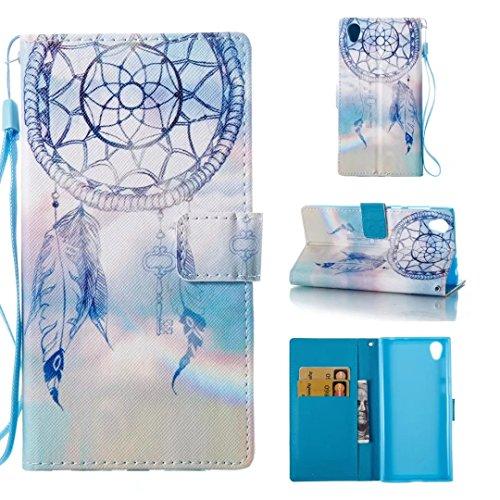 Sony Xperia L1 Wallet Case,HAOTP Beauty