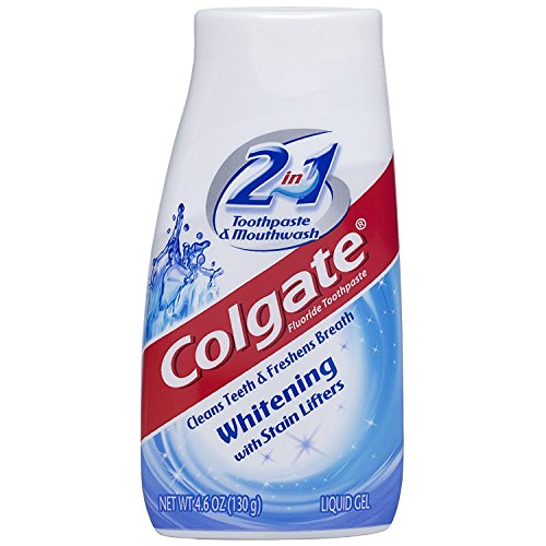 Price comparison product image Colgate 2-in-1 Whitening With Stain Lifters Toothpaste 4.60 Oz (6 Packs)