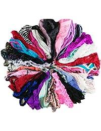 Varity Of Women Underwear Pack T-Back Thong G-String Lacy Panties Tanga