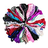 jooniyaa Varity Of Women Underwear Pack T-Back Thong G-String Lacy Panties Tanga (M, 8pcs)