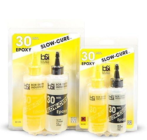- Bob Smith Industries 9 oz Slow-Cure 30 Min Epoxy #BSI206