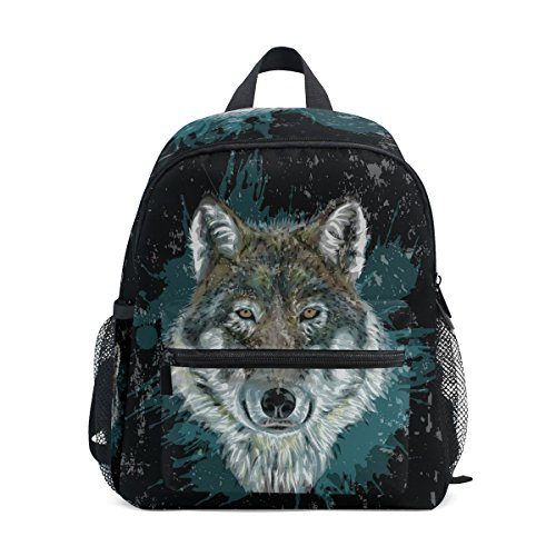 Wolf nbsp;Bag nbsp;Girls nbsp;Book nbsp;School Boys Kids Animal nbsp;for ZZKKO nbsp;Toddler Forest nbsp;Backpack ExwCqEA0