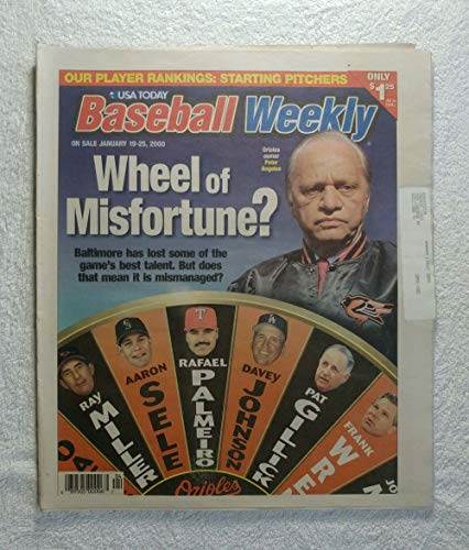Baltimore Orioles owner Peter Angelos - Wheel of Misfortune - Baseball Weekly Magazine - January 19, 2000 ()
