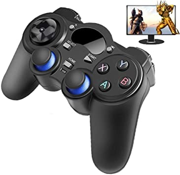 2.4 G Wireless Controller Gamepad Joypad Android con OTG convertidor for PS3 / Móvil for Tablet PC Smart TV Box: Amazon.es: Electrónica