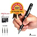 SpyCrushers Spy Pen Camera HD 720p Pro Series, Includes FREE 16GB SD Card and 3 Ink Refills, Features Video, Photo & Webcam, Best Hidden Camera Pen DVR, Satisfaction Guarantee