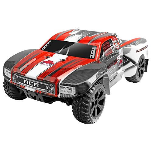 Redcat Racing Blackout SC PRO 1/10 Scale Brushless Electric Short Course Truck with Waterproof Electronics Vehicle, Red from Redcat Racing
