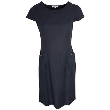 e1c3eea9c88 Alice Collins Capped Sleeve Sun Dress with Pockets 18 Navy  Amazon ...