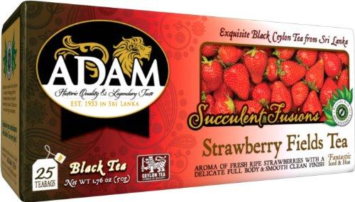 Adam Strawberry Fields Tea, 150 Count