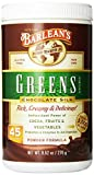 Barleans Organic Oils Chocolate Silk Greens - Powder - 9.52 oz.