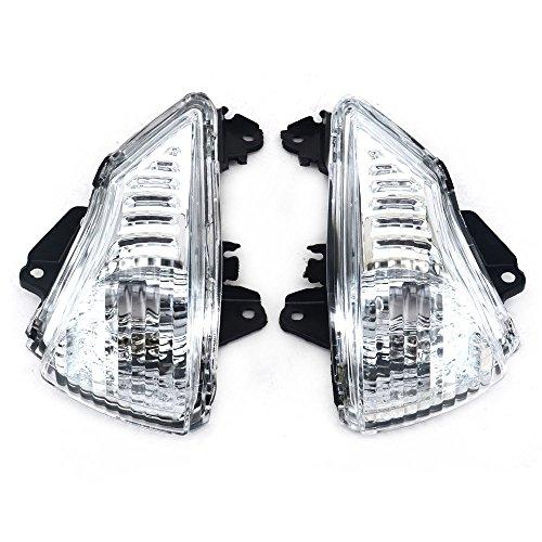 Front Turn Signals Blinker Light Lamp Indicator Cover Guard For KAWASAKI ER6N ER6F 2009-2011: