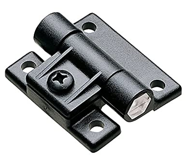 Southco E6-10-501-20 Series Adjustable Torque Position Control Hinge with Holes Black 35.00 in-lbf Symmetric Torque Acetal Copolymer 2-1//2 Leaf Height