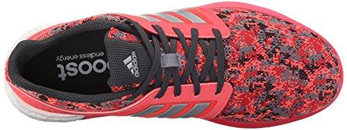 Adidas Performance solar Rnr las zapatillas de running, negro / plata / azul, 5 M US Grey/Metallic Silver/Grey