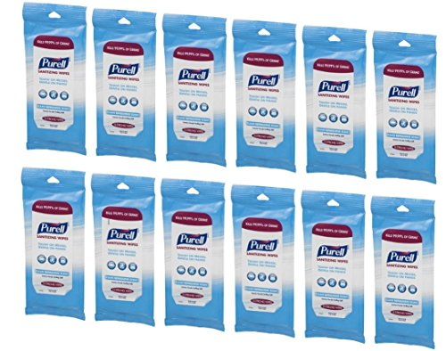 PURELL Hand Sanitizing Wipes Refreshing