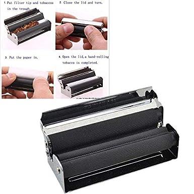 Amazon.com: MaxFox – Máquina para hacer cigarrillos de metal ...