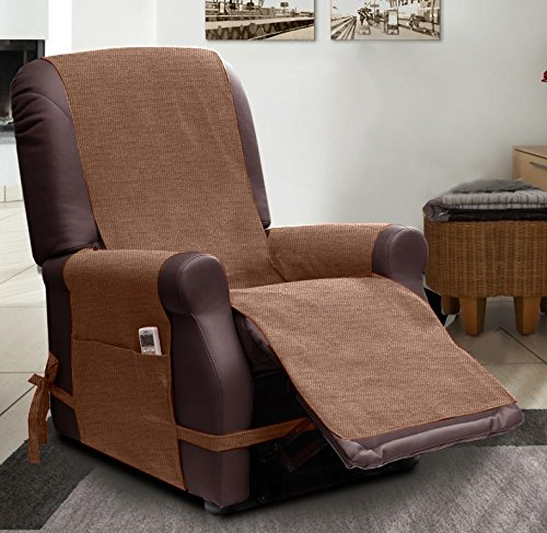 SCUDO - RECLINER ARMCHAIR COVERS - RELAX - brown Amazon.co.uk Kitchen u0026 Home & SCUDO - RECLINER ARMCHAIR COVERS - RELAX - brown: Amazon.co.uk ... islam-shia.org