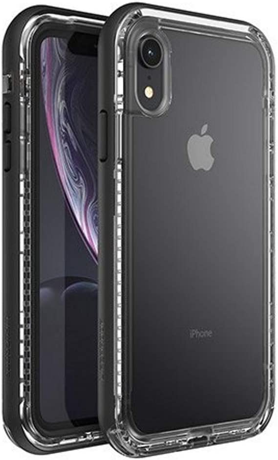 LifeProof Next Series Case for iPhone XR - Bulk Packaging - Clear Black Crystal