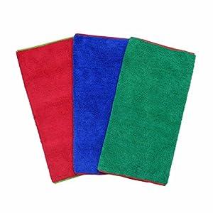 CarCarez Microfiber Car Wash Drying Towels Professional Grade Premium Microfiber Towels for Car Wash Drying 450GSM 16 in.x 16 in. Pack of 6