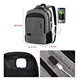 Monsdle Travel Laptop Backpack Anti Theft Water