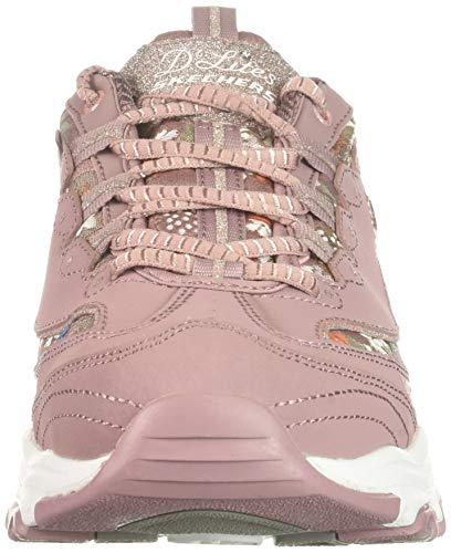 Mve Femme Baskets Skechers floral D'lites Days wq0qBTRa