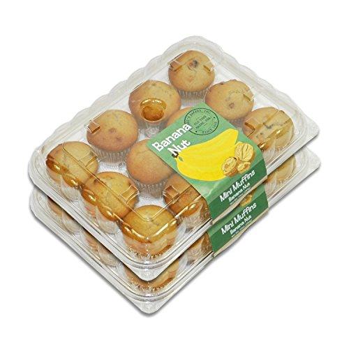Muffin Mini Banana (Mini Muffins - 2 Packages (Banana Nut))