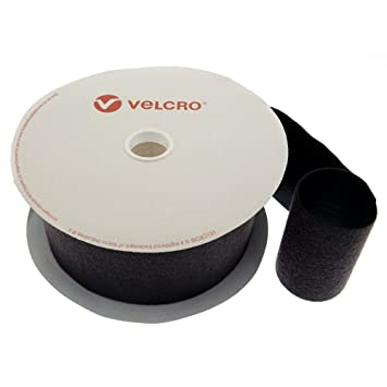 VELCRO Hook and loop ONE WRAP® double sided Strapping  16mm x 1 metre in yellow