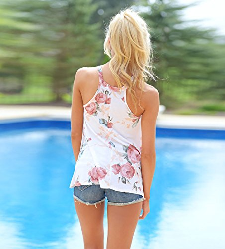 Yieune - Camisas - para mujer blanco1
