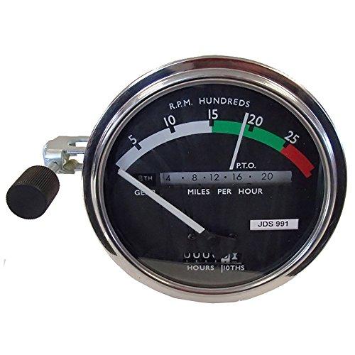 (RE206855 White Needle Tachometer for John Deere 3010 4020 4320 4520 5020 6030 700)