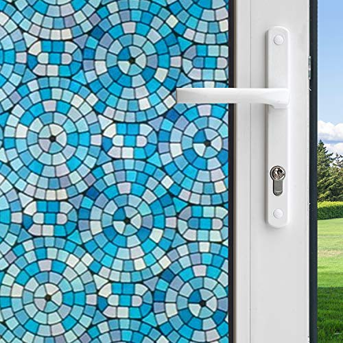 Gila 50165298 Decorative Privacy Mosaic Circles Film-36 x6.5' Window Film, 36