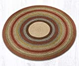 Cheap Earth Rugs 16-300 Round Area Rug, 5.75′, Honey/Vanilla/Ginger