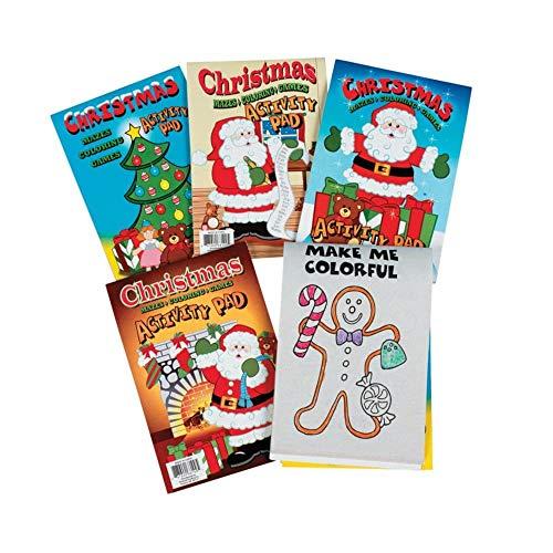 - Fun Express Holiday Activity Pads II (1 Dozen) - Bulk