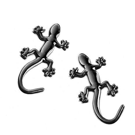 Adhesivo Decorativo de Metal 3D para Coche, diseño de Gecko ...