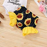 Newborn Baby Girl Clothes Sunflower Wild Ox