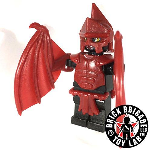 Brick Brigade Custom Lego Fantasy Minifig Hell Born Vlad