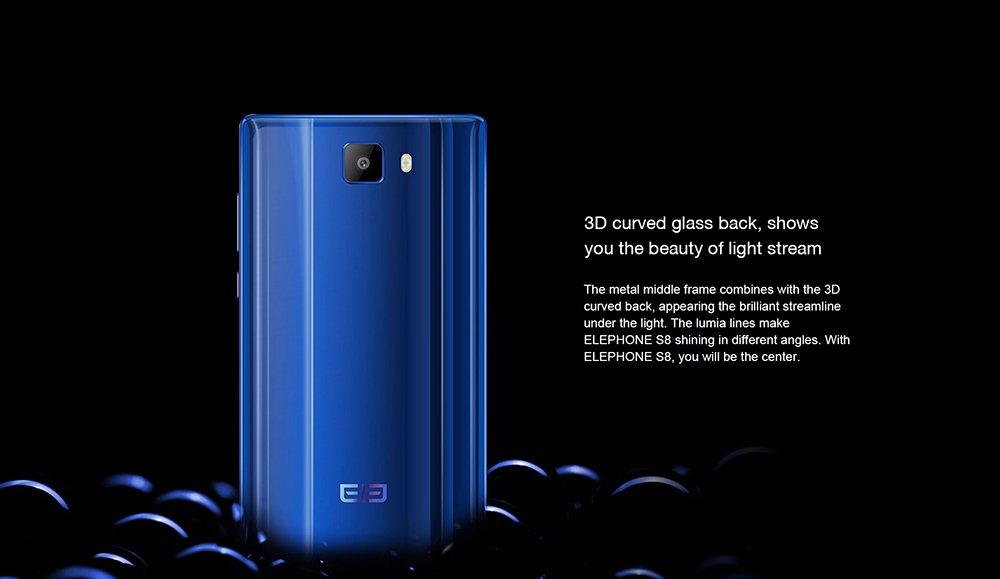 Elephone S8- 4G Smartphone ohne Vertrag, 6.0 Zoll: Amazon.de: Elektronik