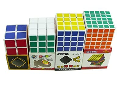 JohnsDollarStore 8 Sets of Cube Puzzle White & Black by JOHNS DOLLAR STORE